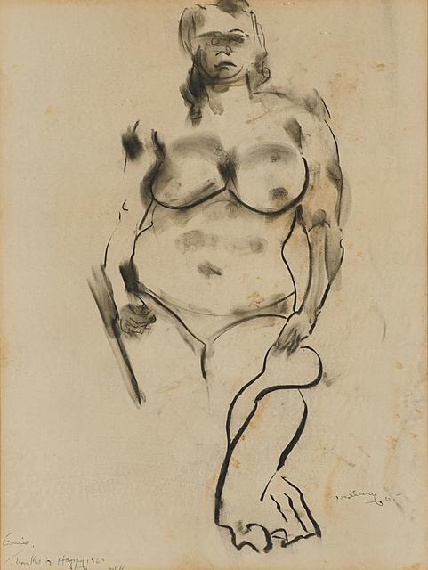 Michael Goldberg, 'Untitled (Sketch of a Woman)', 1965, Rago