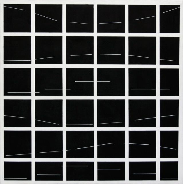 , 'Structure de la pensee I. (1991/110),' 1991, Art+Text Budapest