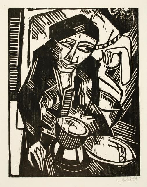 , 'MELANCHOLIE,' 1914, Jörg Maass Kunsthandel
