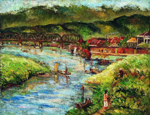 , 'Taipei Bridge,' 1933, Liang Gallery