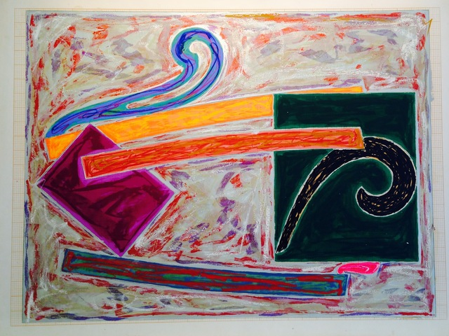 Frank Stella, 'Inaccessible island rail', 1977, Anders Wahlstedt Fine Art