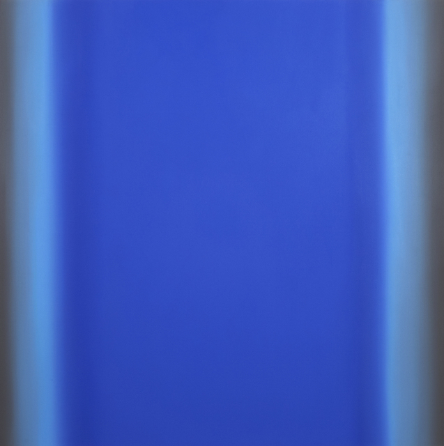 , 'Blue Orange 14-S6060 (Violet Blue Deep), Interplay Series,' 2013, Brian Gross Fine Art