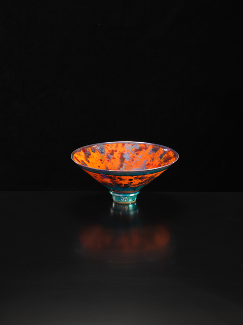 , 'Orange Flared Bowl,' 2018, Oxford Ceramics Gallery