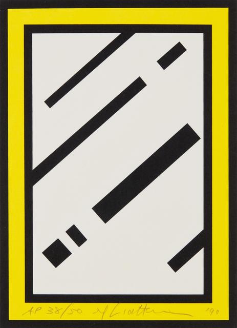 Roy Lichtenstein, 'Mirror, from Harvey Gantt', 1990, Phillips