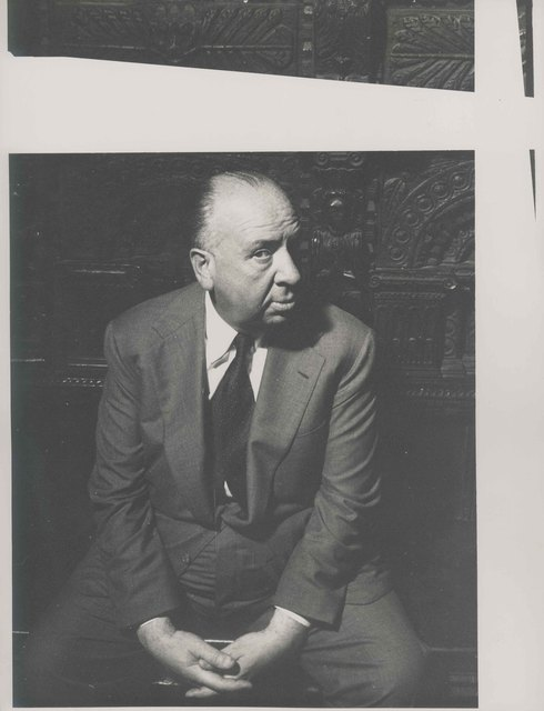 , 'Sir Alfred Hitchcock,' London 1956, Johannes Faber
