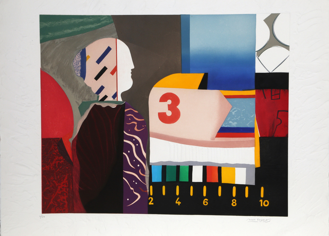 Max Papart, 'Chromatic Composition', circa 1980, RoGallery