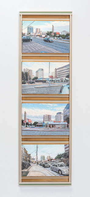 , 'Oak Lawn Avenue, Dallas, Texas (Take Four),' 2013, Valley House Gallery & Sculpture Garden