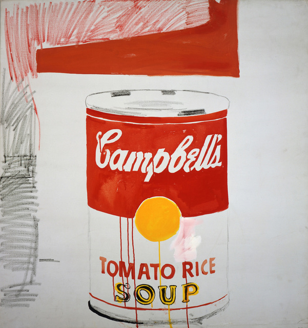 , 'Campbell's Soup Can (Tomato Rice),' 1961, Andy Warhol Museum
