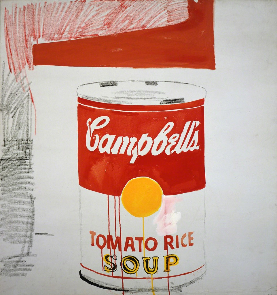 Andy Warhol, 'Campbell's Soup Can (Tomato Rice),' 1961, Andy Warhol Museum