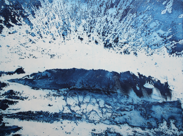 , 'Lake Michigan Storm: 202.5° SSW,' 2018, Olson Larsen Gallery