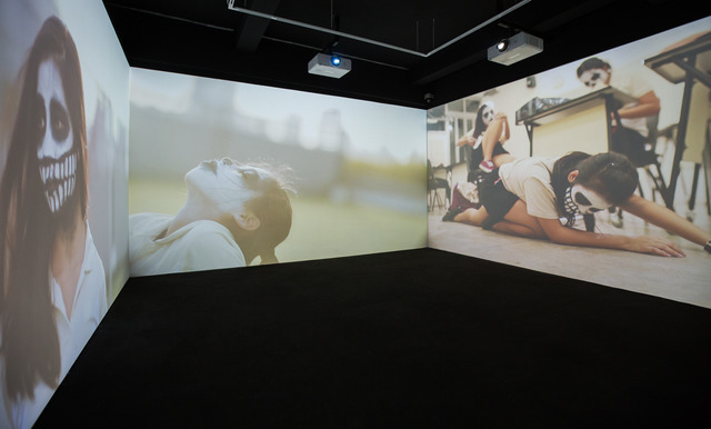 Sookoon Ang, 'Exorcise Me', 2013, Video/Film/Animation, 4-channel video installation. Duration 2:30 mins, Singapore Art Museum (SAM)
