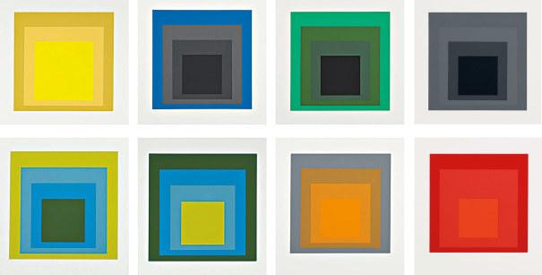 Josef Albers, 'Formulation Articulation I and II', 1972, Maune Contemporary