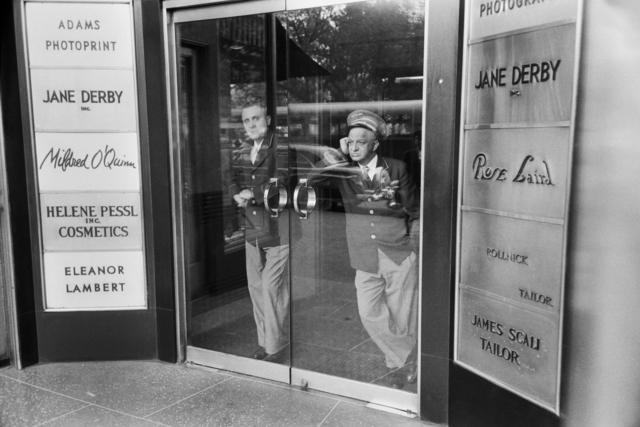 , 'Bored doormen, New York, USA,' 1953, David Hill Gallery