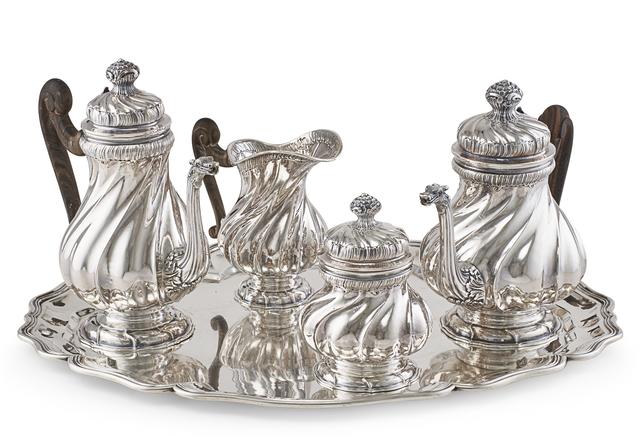 Buccellati, 'Buccellati Sterling Silver Tea & Coffee Service', 20th c., Design/Decorative Art, Rago/Wright