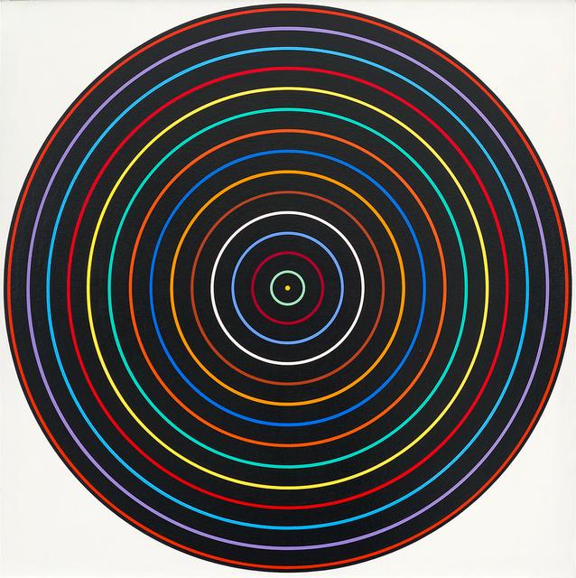 , 'Multicolor with Black, C-176,' 1965, Heather James Fine Art