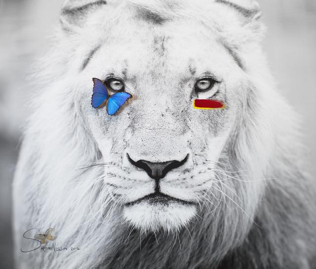 , 'Lion,' 2017, Eden Fine Art