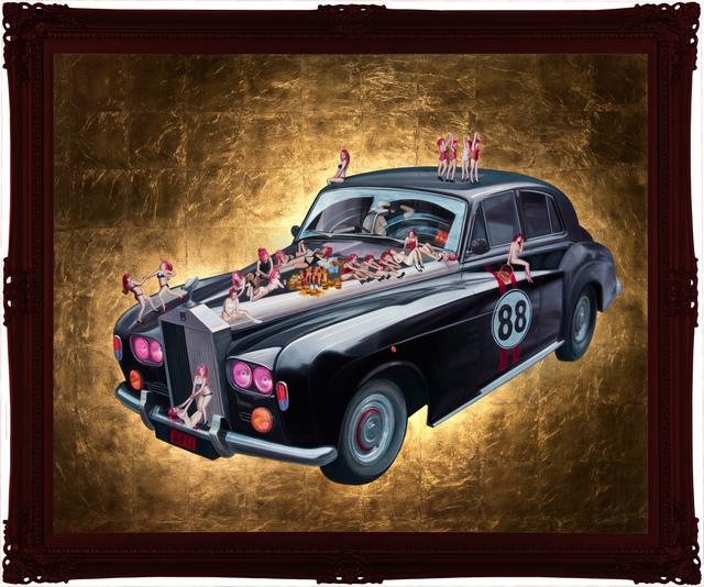 , 'Vintage Car,' 2018, Aki Gallery