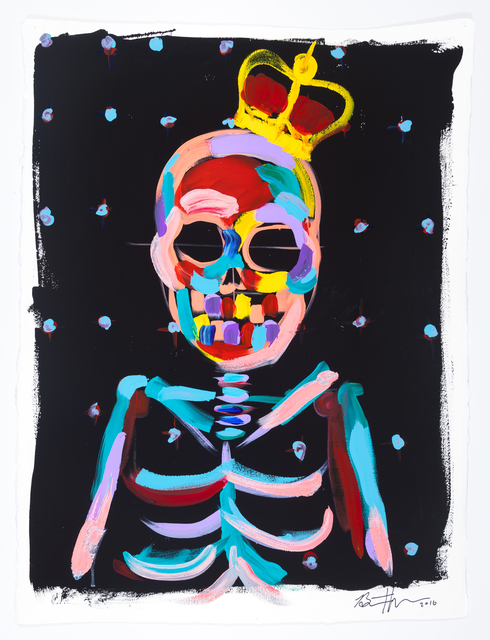 , 'King Skull with Blue Dots,' 2015, ACA Galleries