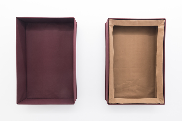 , 'Two Box Shapes, Inserted Sculptural Frame,' 1991, Galerie Jocelyn Wolff