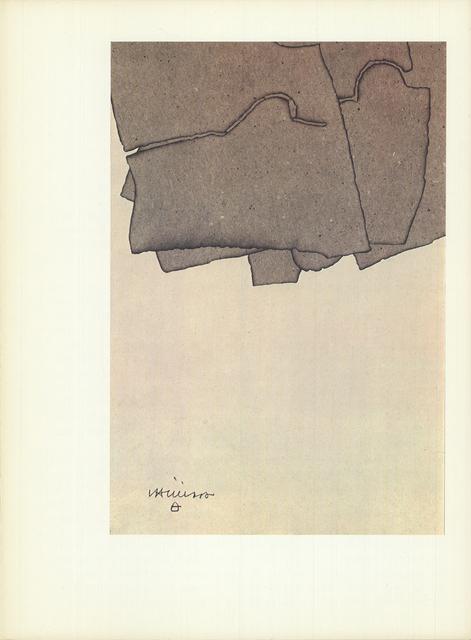 Eduardo Chillida, 'Untitled', (Date unknown), Print, Stone Lithograph, ArtWise