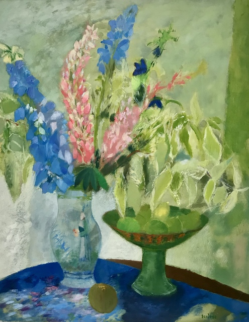 Guy Bardone, 'Bouquet aux lapins bleus', 1986, Artioli Findlay