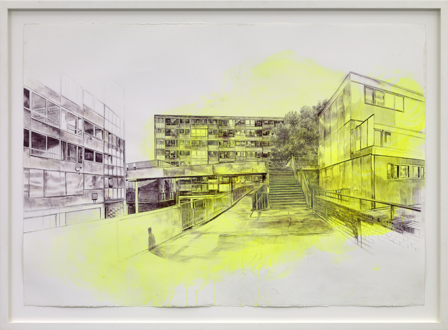 Laura Oldfield Ford, 'Heygate Estate, 1974', 2010, The Fine Art Society