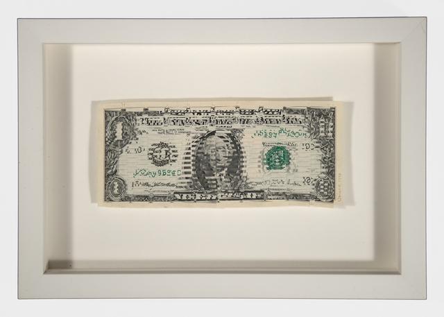Oriane Stender, 'Woven Dollar (Wedge)', 1997, FRED.GIAMPIETRO Gallery