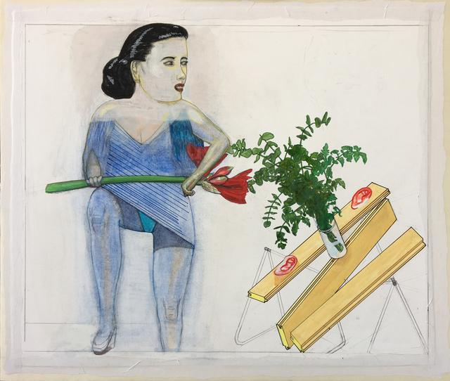 , 'Oorplank,' 2018, Galerie DYS
