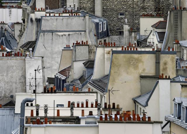 , 'Paris Rooftops #1,' 2014, Bruce Silverstein Gallery