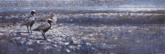 , 'Three Black-Bellied Plovers,' , Stremmel Gallery