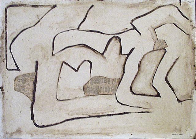 Conrad Marca-Relli, 'Untitled (Number 8, F.119)', 1962, Washburn Gallery