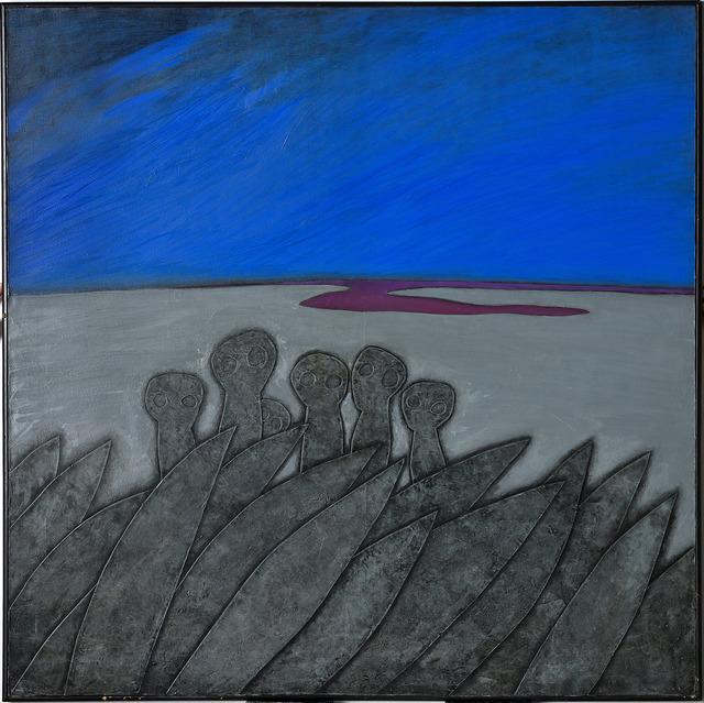 , 'Children at the Seashore,' 1985, Gana Art