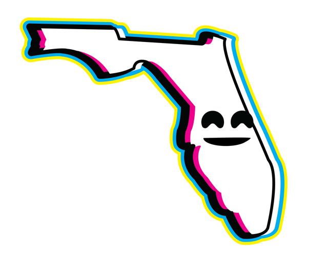 Josh Sullivan, 'Fake Smile Florida Print', 2017, Rare Tempo