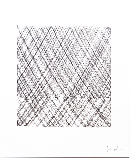 Tristan Perich, 'Machine Drawing ( 2008-07-02 11:35 PM to 1:07 AM)', 2008, bitforms gallery