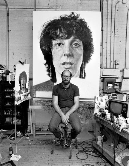 Kurt Edward Fishback, 'Chuck Close', 1982, Scott Nichols Gallery
