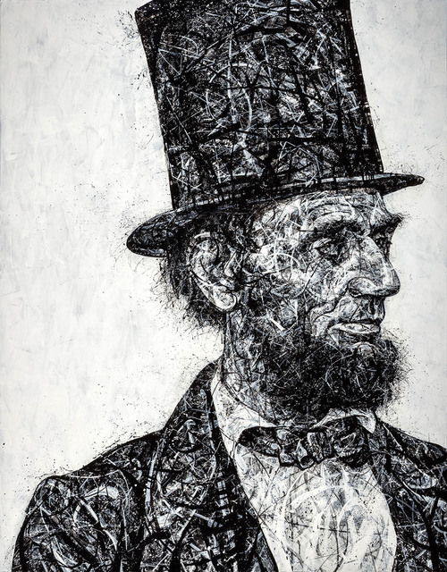 , '19th Century Lincoln,' 2018, Angela King Gallery
