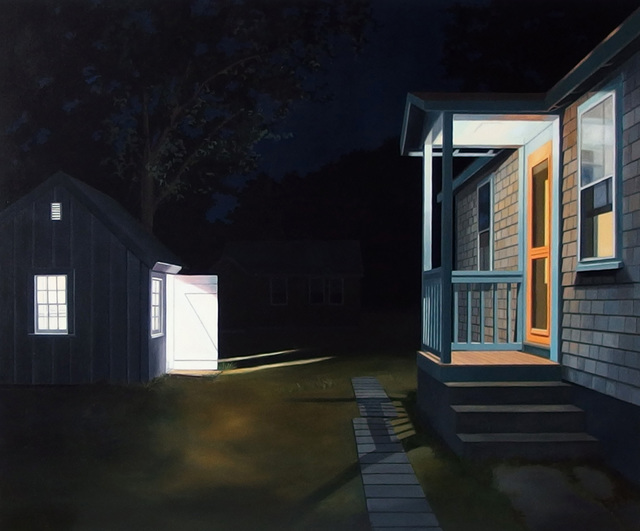 , 'Night Backyard,' , Clark Gallery