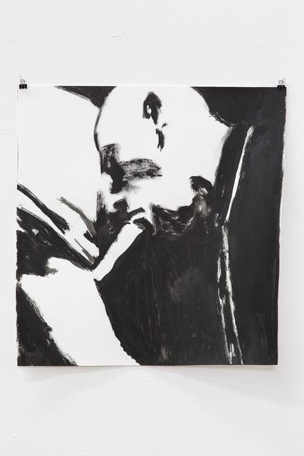 , 'Blow Job ink study,' 2014, Nina Johnson
