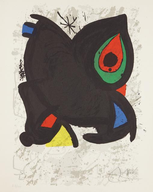 Joan Miró, 'Joan Miró, Grand Palais, Paris', 1974, Phillips