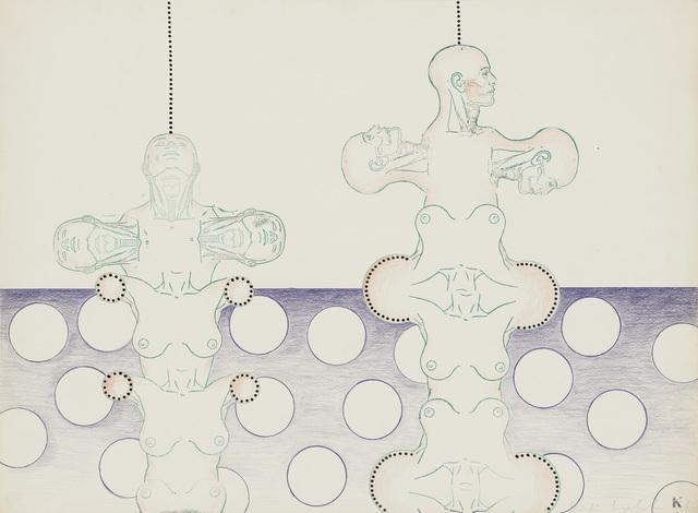 , 'Untitled (Robots),' 1966, Simone Subal