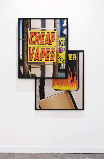, 'Cheap Vapes / Power Drink,' 2018, Klemm's