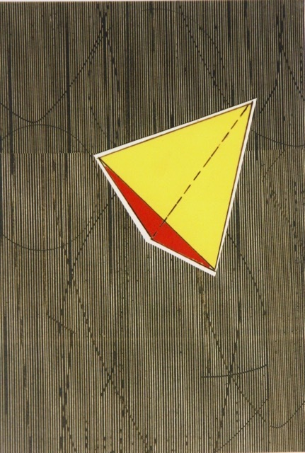 Five Geometric Solids #1 Digital print on paper 19 x 13 inches