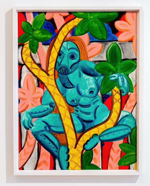 , 'Untitled (Blue Figure),' 2017, Projet Pangée