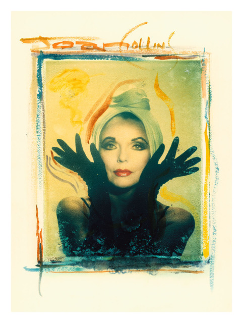 Gary Bernstein, 'Joan Collins', 1990, Mixed Media, Photo-Transfer, The Archives Store