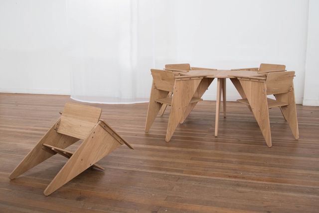 , 'Table and Chairs,' 2019, Rademakers Gallery