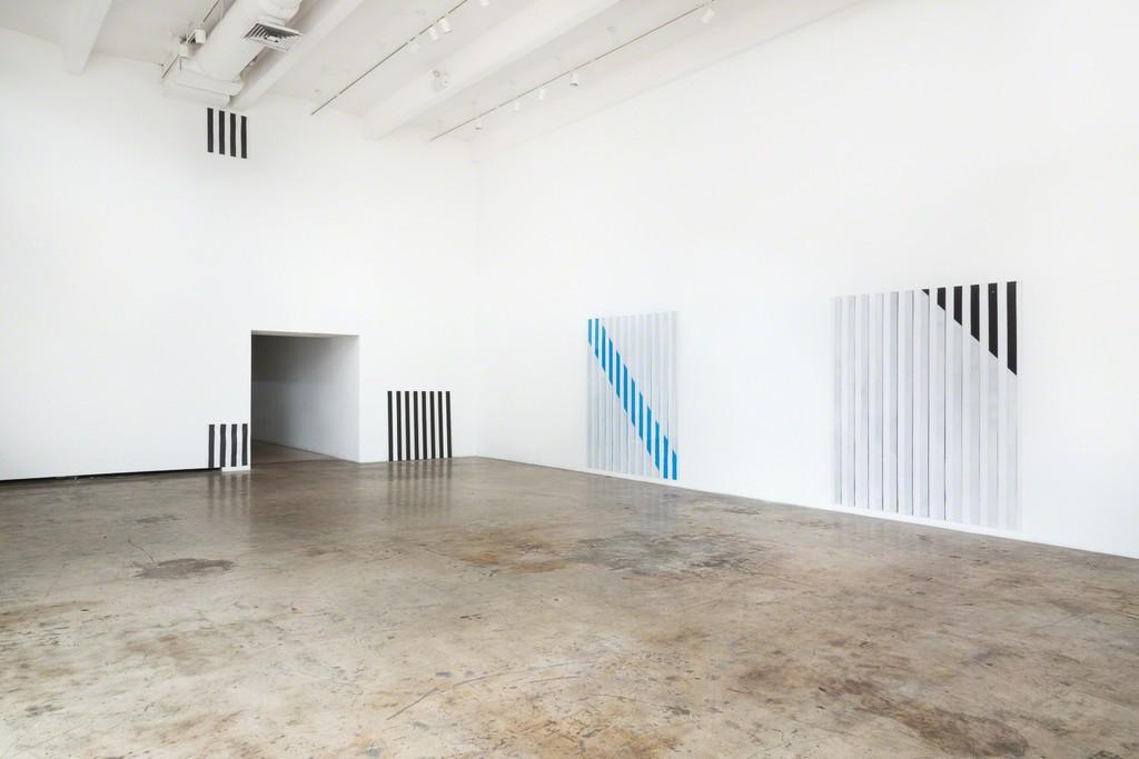 Photo-souvenir: Daniel Buren/Miami, Phase 1, 2015 Bortolami, Miami, Installation view