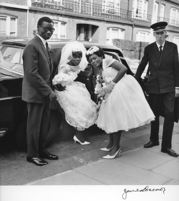 , 'The wedding of James Barnor's cousin.,' 1964, Galerie Clémentine de la Féronnière