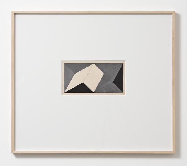 , 'Planos em superfície modulada,' 1957, Luhring Augustine