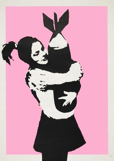 Banksy, 'BOMB LOVE (BOMB HUGGER)', 2003, Gallery Art