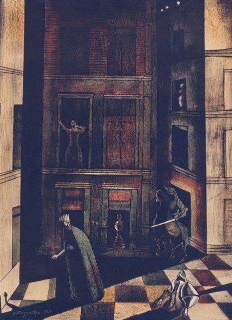 "Gustavo Montoya, '""Jaque Mate""', 1985, La Siempre Habana"